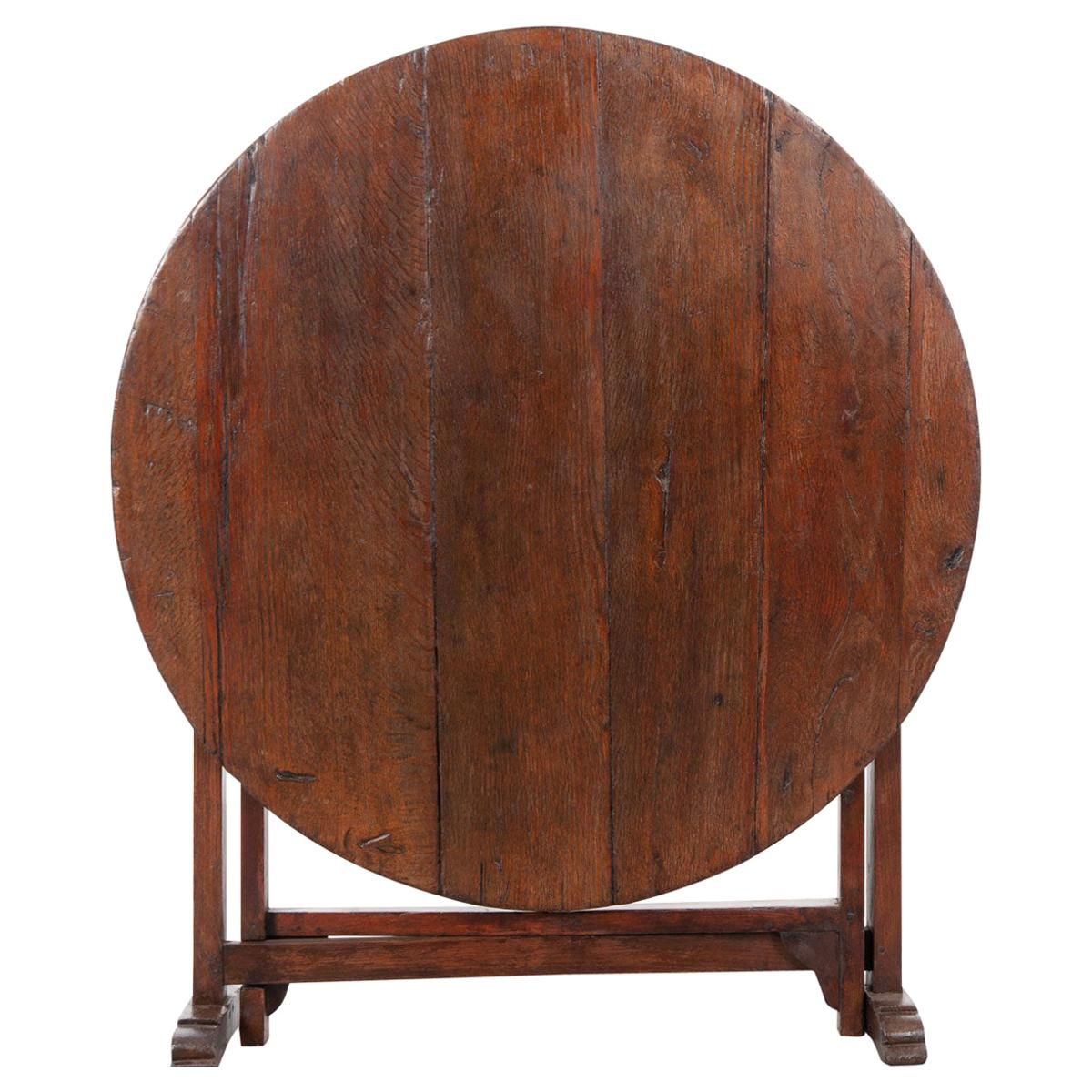 French 19th Century Wine Tasters Vendange Table