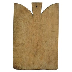 French 19th Century, Wooden Chopping or Cutting Board
