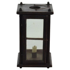 French 19th Century Wooden Lantern