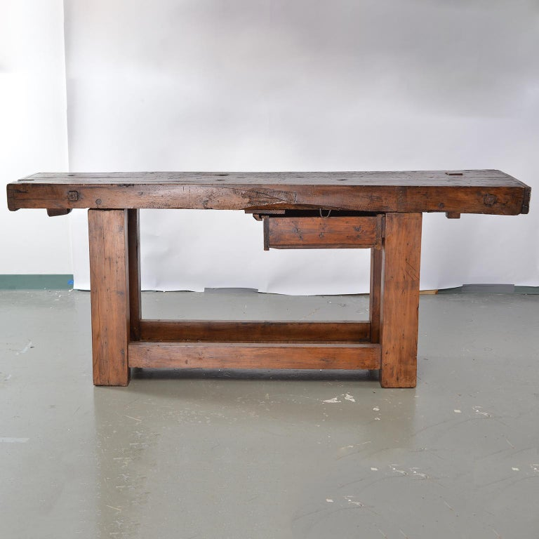 Remarkable French 19Th Century Work Bench Table Andrewgaddart Wooden Chair Designs For Living Room Andrewgaddartcom