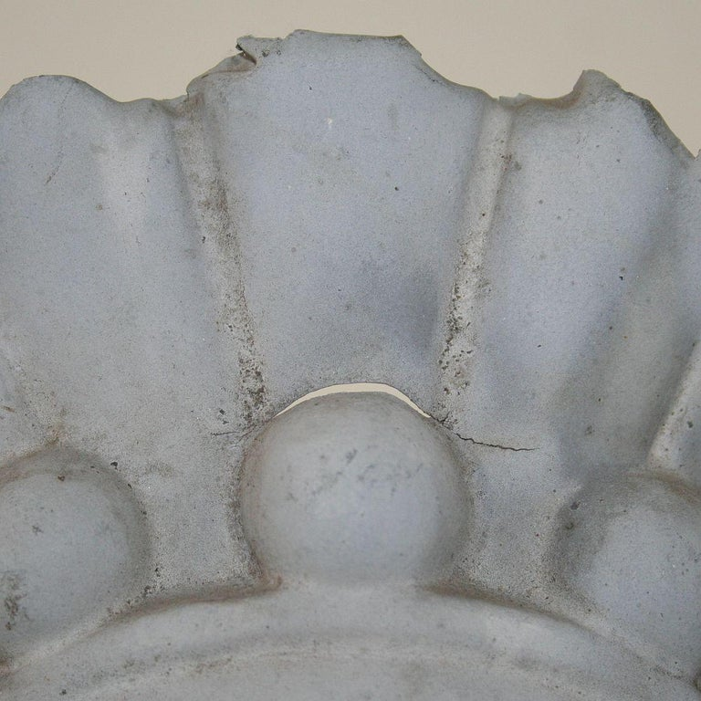 French, 19th Century, Zinc Head Ornament 5