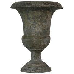 French 19th Century Zinc Medici Vase