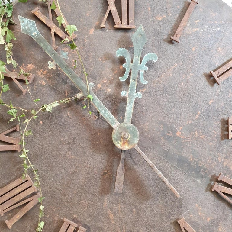 French 19th Century Clock Face For Sale 1