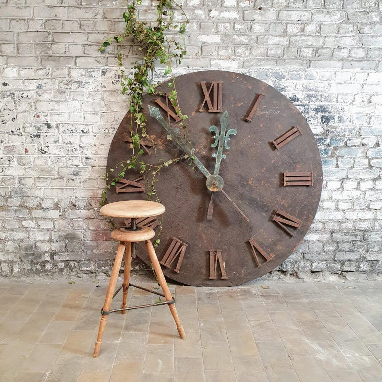 French 19th Century Clock Face For Sale 3