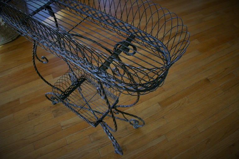 French 2 Level Plant Stand In Good Condition In Douglas Manor, NY
