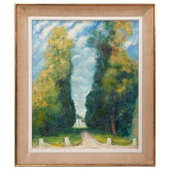 French 20th Century Pierre Le Trividic Painting