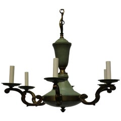 French 1940s Neoclassical Chandelier