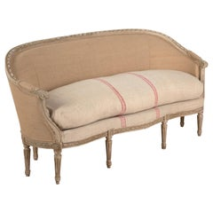 French 8-Leg Louis XVI Sofa