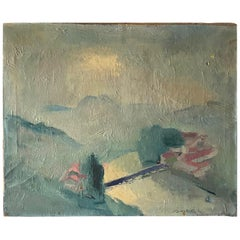 French Abstract Painting from André Sorbet
