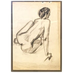 French Academic Drawing, circa 1945-50