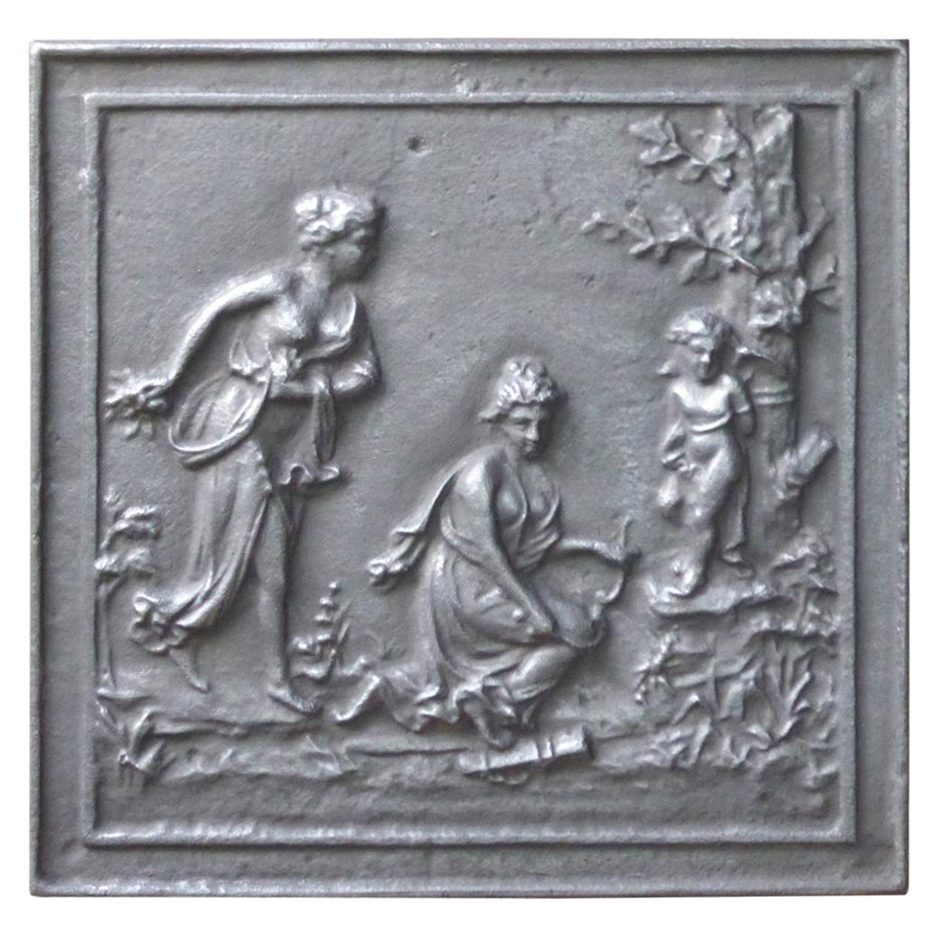 French 'Allegory of Love' Fireback