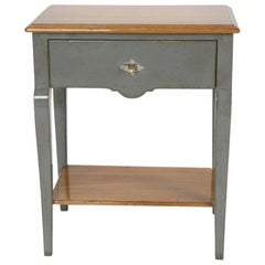 French Alphonse Bedside Table, 20th Century