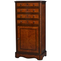 French Amboyna Drinks Cabinet