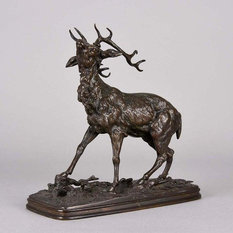 French Animalier Bronze Study Entitled