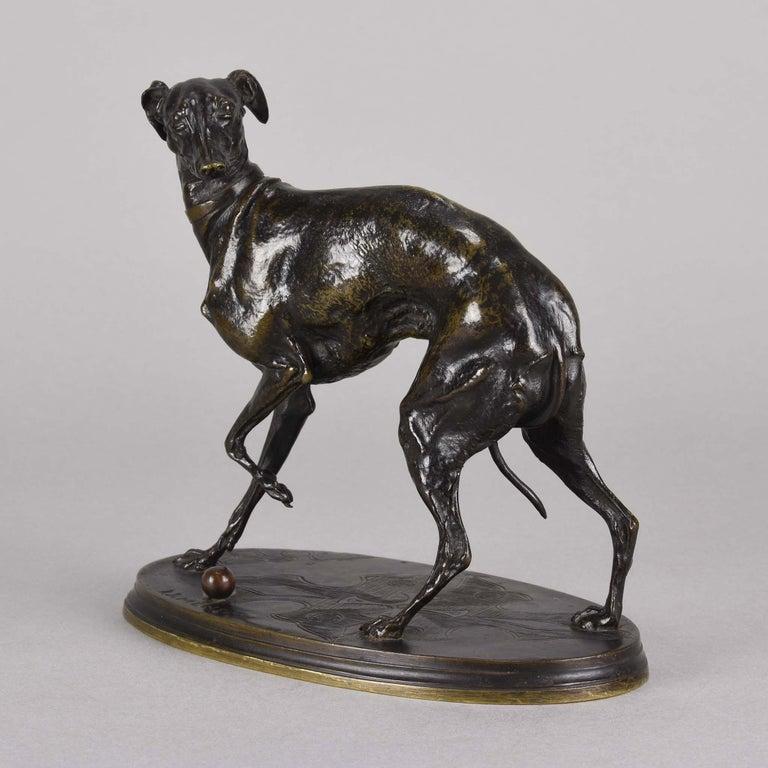 Mid-19th Century French Animalier Bronze Study