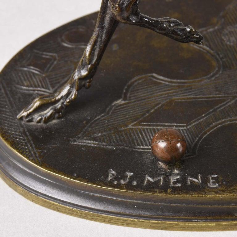 French Animalier Bronze Study