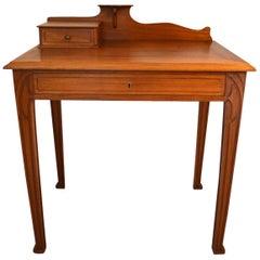 French Antique Art Nouveau Desk, circa 1910