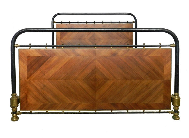 French bed circa 1910 US Queen or UK King size