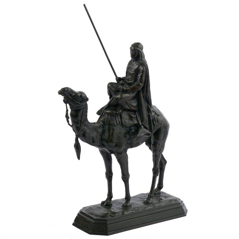 French Antique Bronze Sculpture