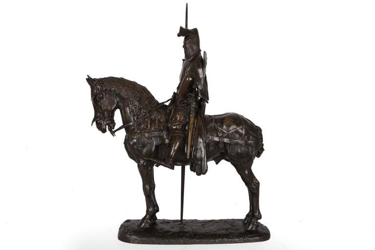Romantic French Antique Bronze Sculpture