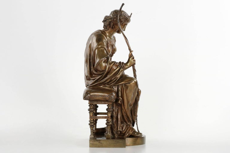French Antique Bronze Sculpture