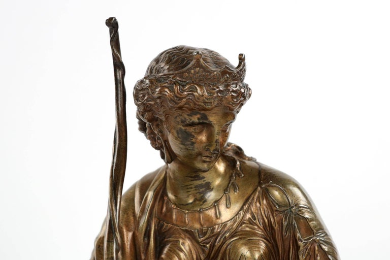 19th Century French Antique Bronze Sculpture