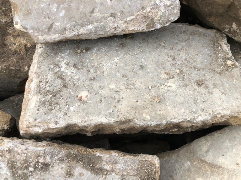 Louis XIV French Antique Cobble Stone 17th Century, Original from France For Sale