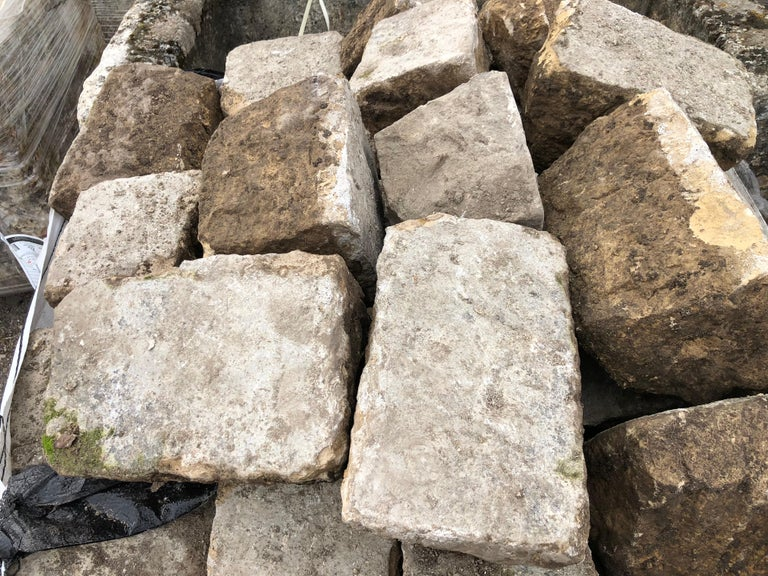 French Antique Cobble Stone 17th Century, Original from France In Good Condition For Sale In LOS ANGELES, CA