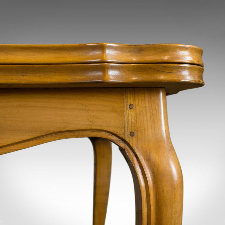 French, Draw Leaf Dining Table, Beech, Extending, Louis XV Revival, circa 1930 For Sale 2