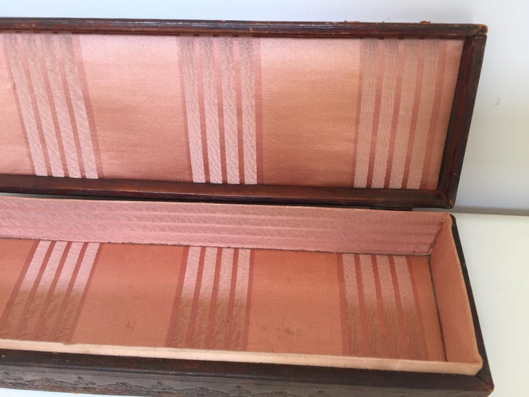 French Antique Glove Box by