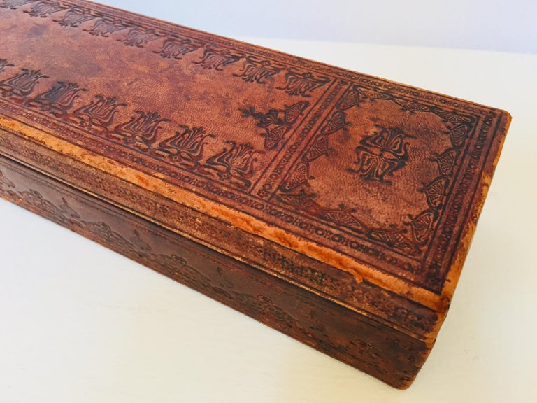 Victorian French Antique Glove Box by