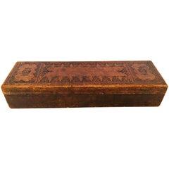 """French Antique Glove Box by """"A La Marquise De Sevigne Paris"""""""