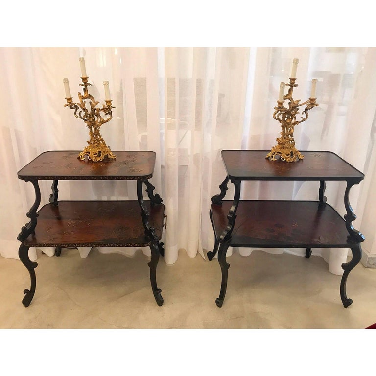 French Pair of Antique Louis VXI Ormolu Electrified Candelabras  For Sale 2