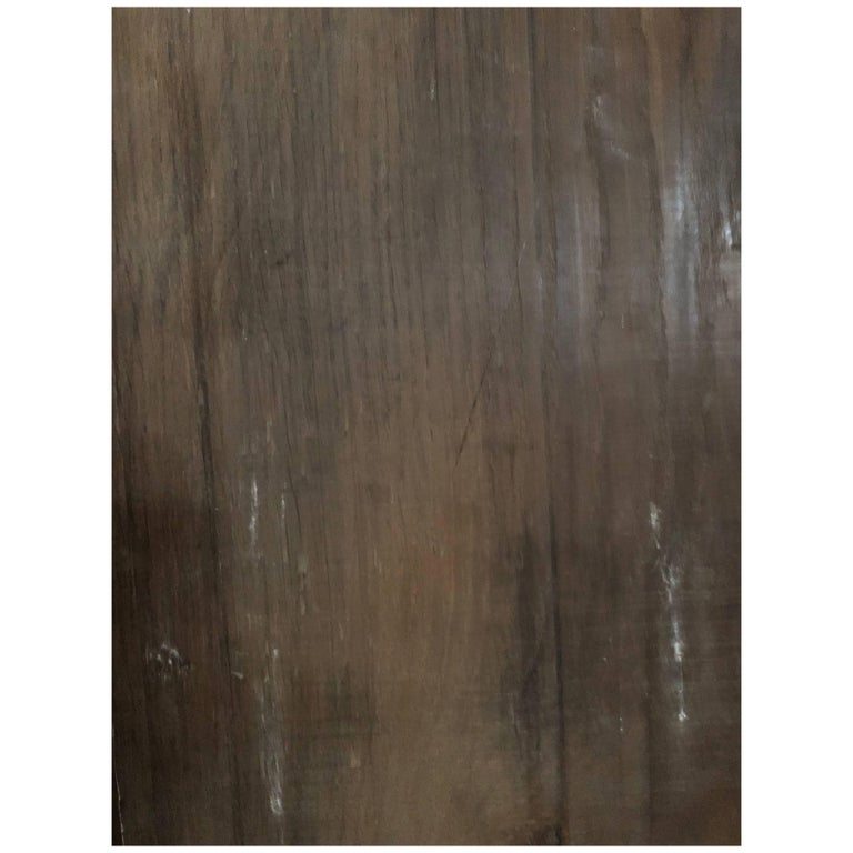 French Antique Solid Wood Oak Flooring, 17th-18th Century, France For Sale
