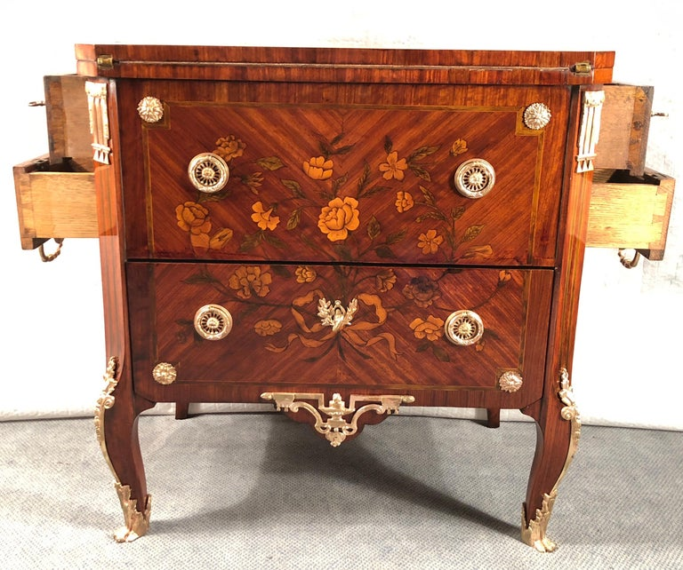 French Antique Transformation Chest of Drawers, circa 1800 For Sale 9