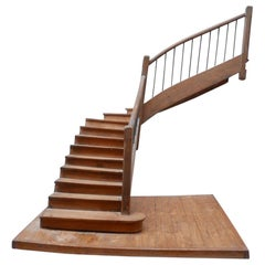 French Apprentice Staircase Model
