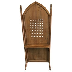 French Arched Shaped Confessional