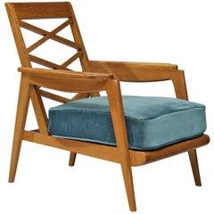 French Armchair in Oak
