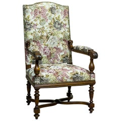 French Armchair/Throne from the Turn of the 19th-20th Century