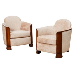 French Armchairs, 1930s