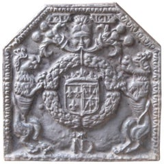 French 'Arms of France and Navarre' Fireback