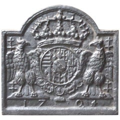 French 'Arms of Lorraine' Fireback