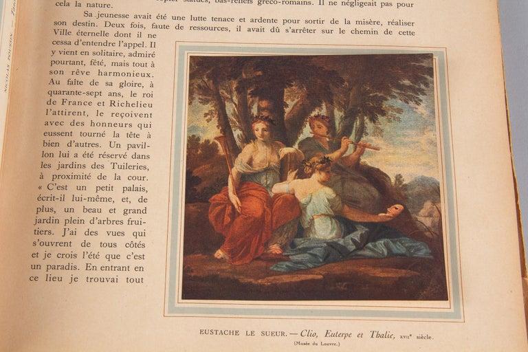 French Art Book Renaissance de la Peinture Francaise, 1946 For Sale 2