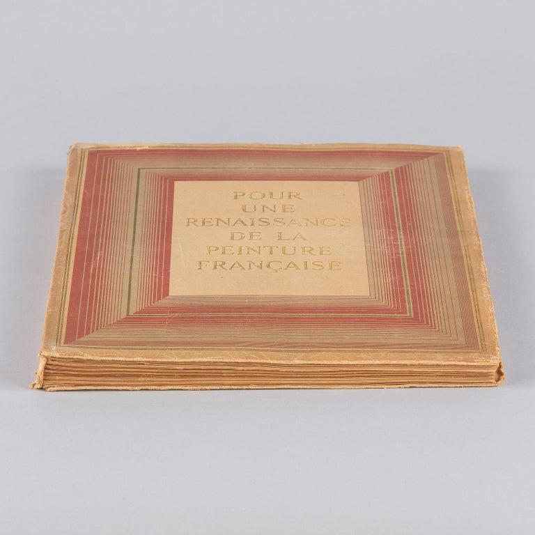French Art Book Renaissance de la Peinture Francaise, 1946 For Sale 4