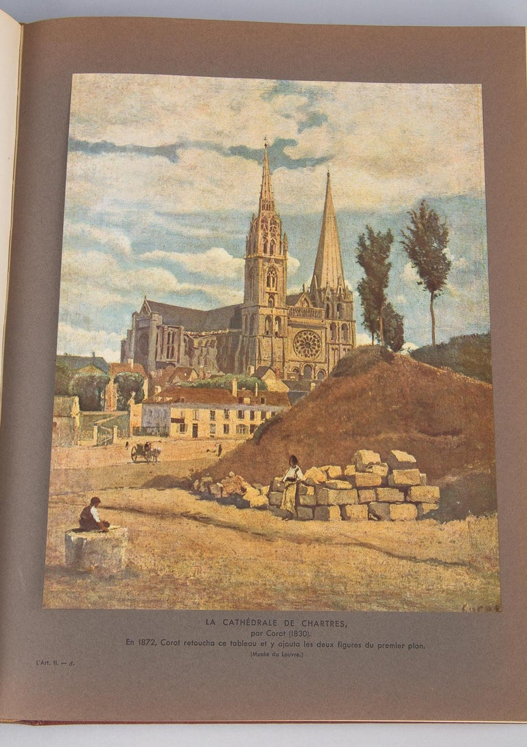 French Art Books, 2 Volumes, 1932 For Sale 12