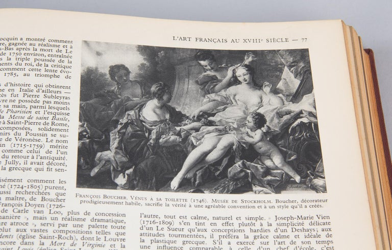 French Art Books, 2 Volumes, 1932 For Sale 13