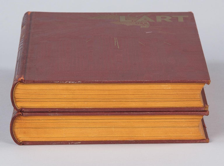 French Art Books, 2 Volumes, 1932 For Sale 1