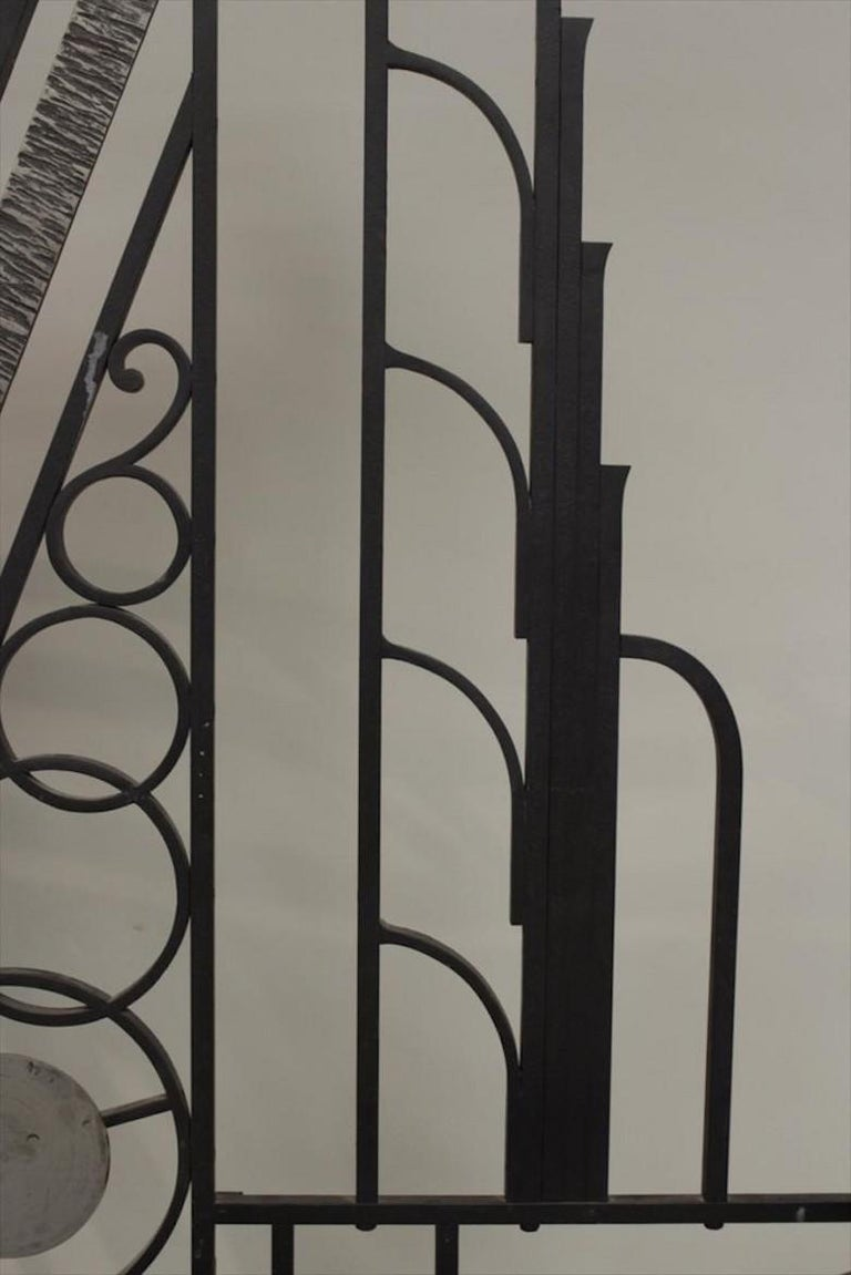 French Art Deco 1930s Wall Stand Hat Rack with Shelves In Good Condition For Sale In Lymington, Hampshire