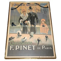 French Art Deco Advertising Poster, Ribet