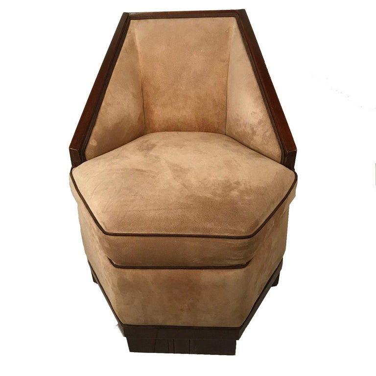 This very stylish armchair made by